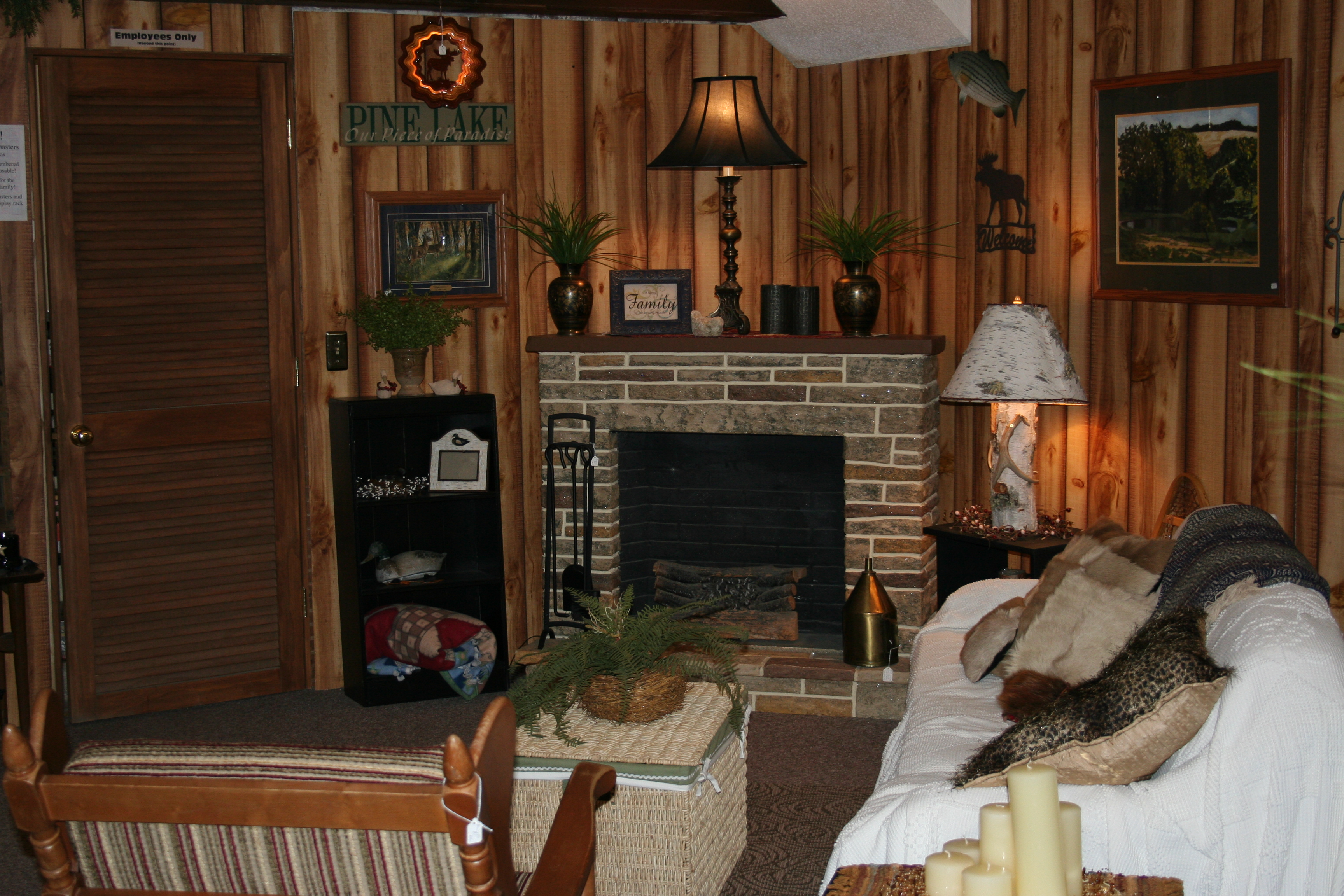 Backwoods gallery home decor so much more - Chalet deco ...